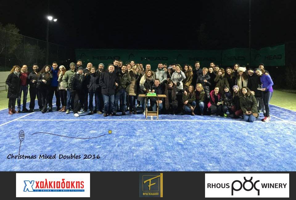 Τελίκος Christmas Mixed Doubles 2016-Round Robin